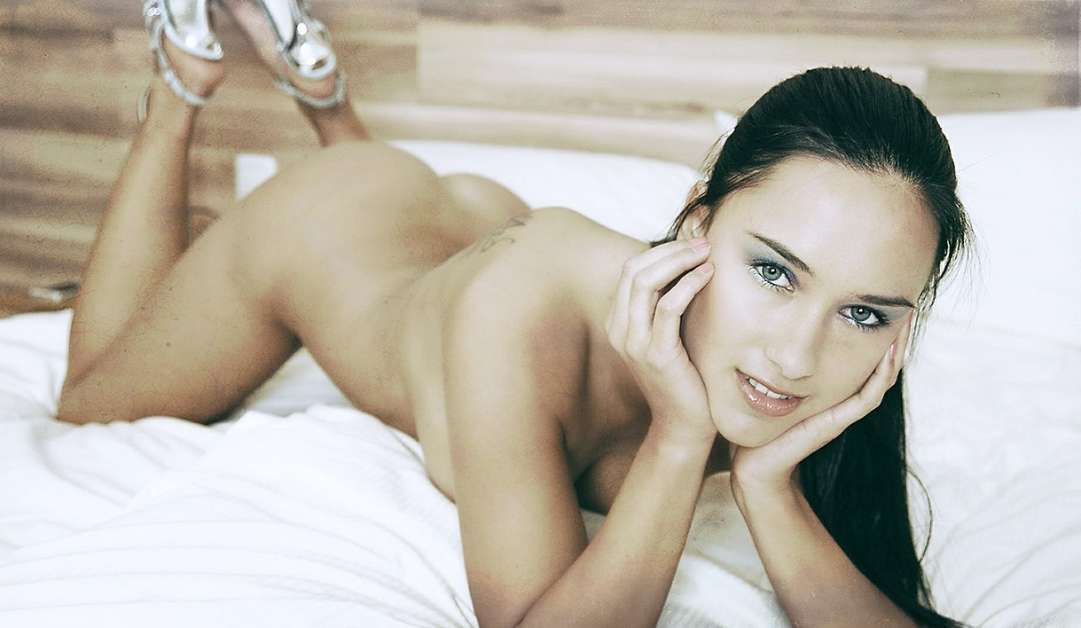 sexy naked woman on bed